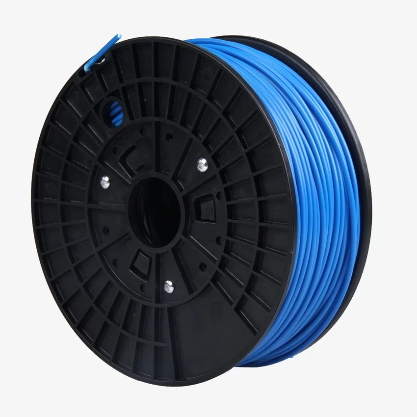 New 1KG ABS 1.75mm Filament with Spool Consumables for 3D Printer Blue (Intl)