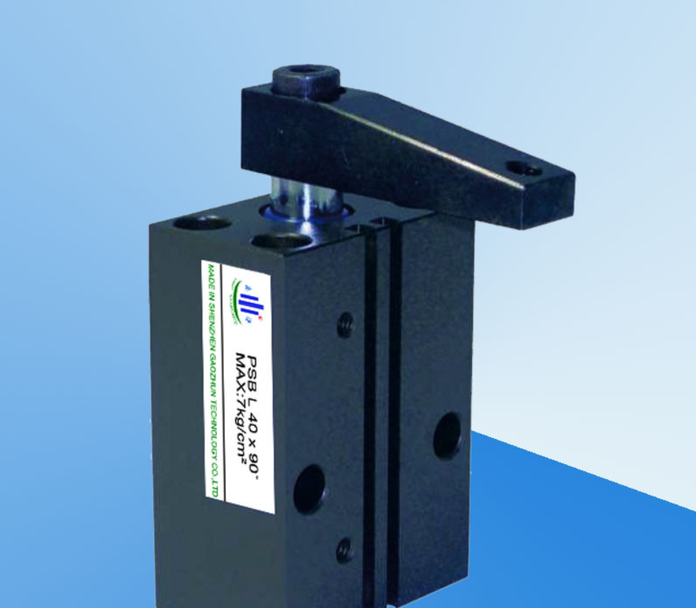 Pneumatic cylinder corner of the square can be induced massive turn PSBL-25-90-degree angle cylinder