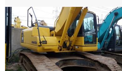 Máy đào đất  Komatsu 200-8 Used excavator