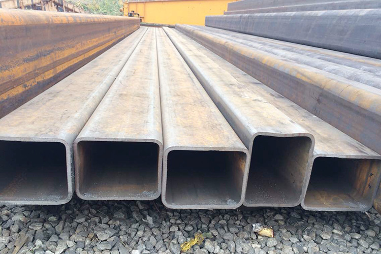 Ống đúc   Direct high-quality square and rectangular tube Q345B square steel pipe rectangular tube