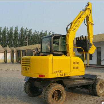 National Ultra-low supply of used wheel excavator Used Wheel excavator Wall of China 60