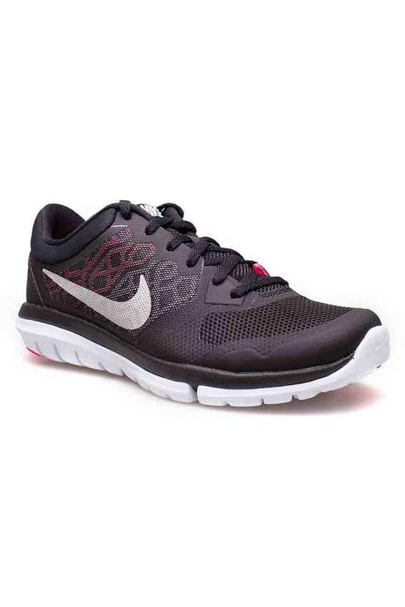 Nike Women รองเท้าผ้าใบ ผู้หญิง รุ่น Flex 2015 RN msl - 724987014 (Blk/Mtllc Slvr-Hypr Pnk-Dgtl P)