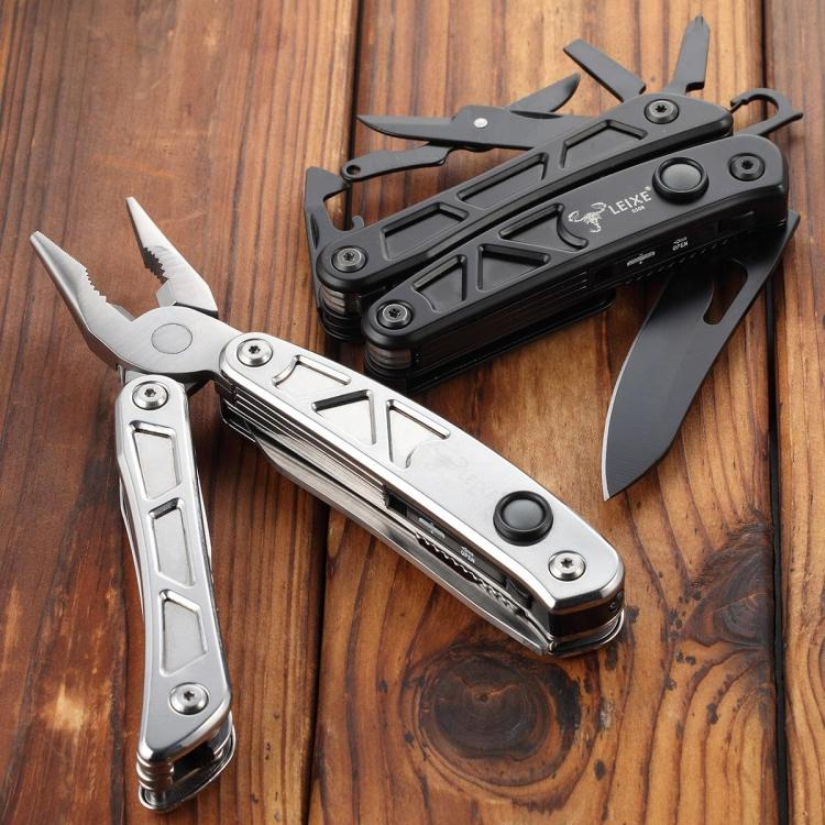 Ray scorpion LEIXE seiko G308 muilti-functional pliers Wilderness survival knife self-defense with o