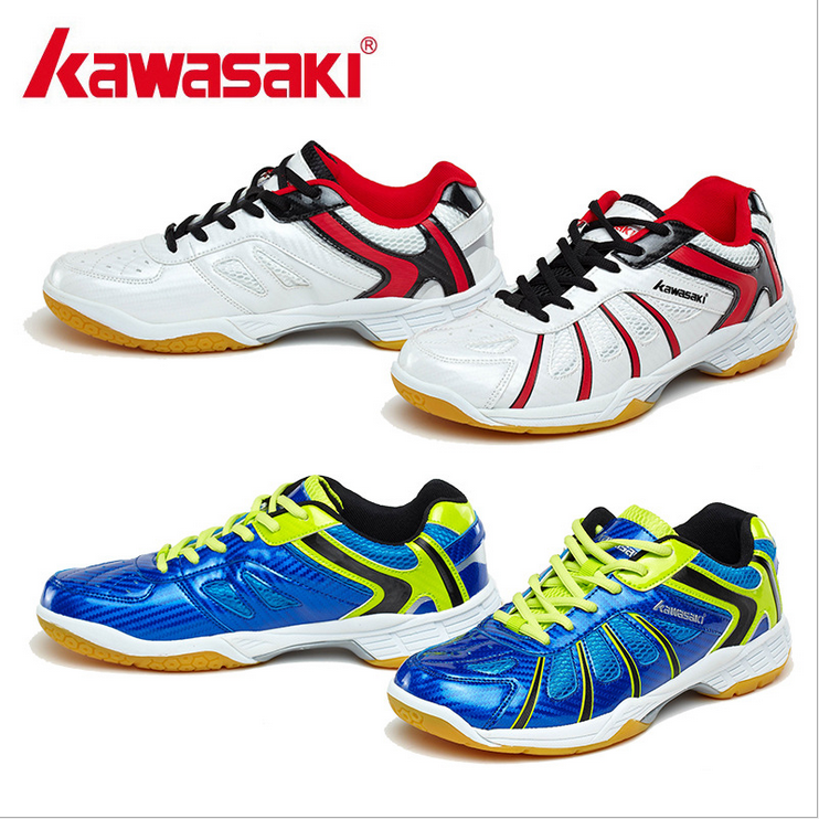 Kawasaki badminton shoes men's shoes for women shoes training authentic sports shoes in the summer