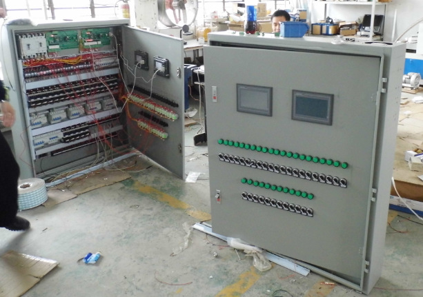 Tủ mạng cabinet   Central hot water works control cabinet switchgear distribution cabinet low-volta
