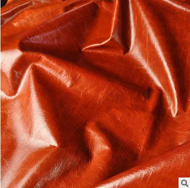 Spot reddish brown oil wax head layer milled cowhide furniture wholesale oil cowhide leather sofa ma