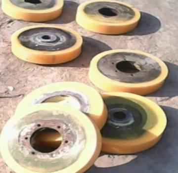 Con lăn vận chuyển / Con lăn băng tải   Polyurethane roller [spot supply] 15632882288