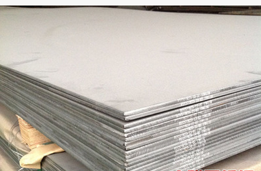 Wide long stainless steel plate material