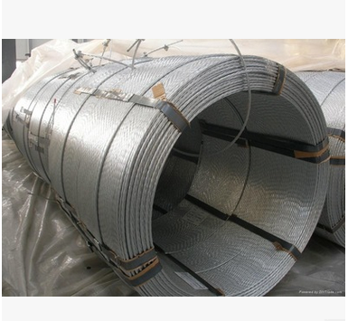 Dây cáp   Long-term supply of high-quality galvanized steel strand prestressing strand large favora