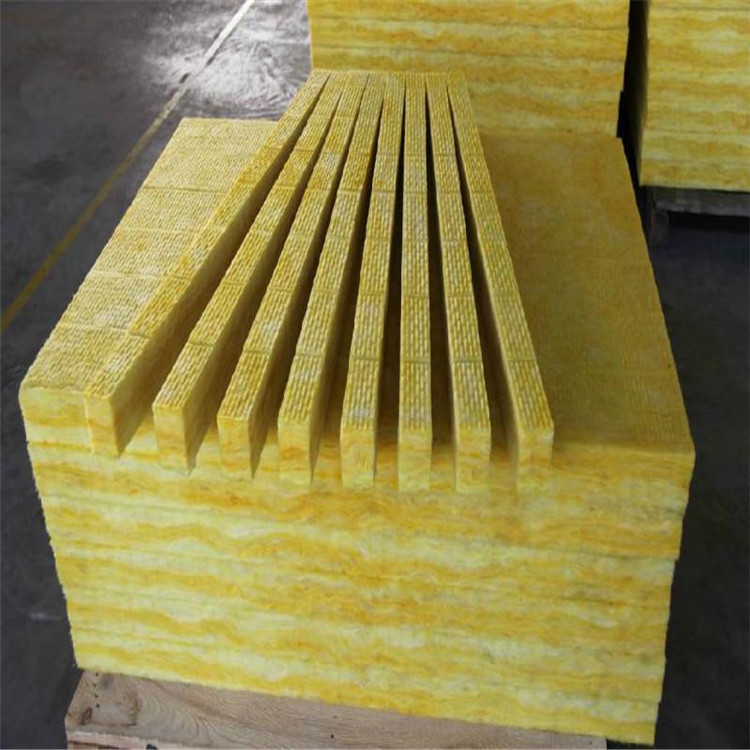 Mạ màu  Glass wool, high-temperature centrifugal glass wool, high density glass wool sandwich pan