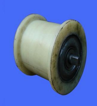Con lăn vận chuyển / Con lăn băng tải   Xingda / nylon roller, roller, nylon mechanical parts, and (