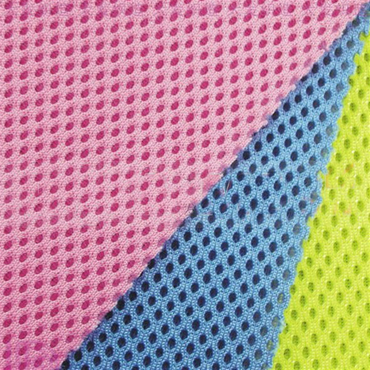 Vải lưới  Professional production and supply sandwich mesh fabric / sandwich mesh / face fashion ba