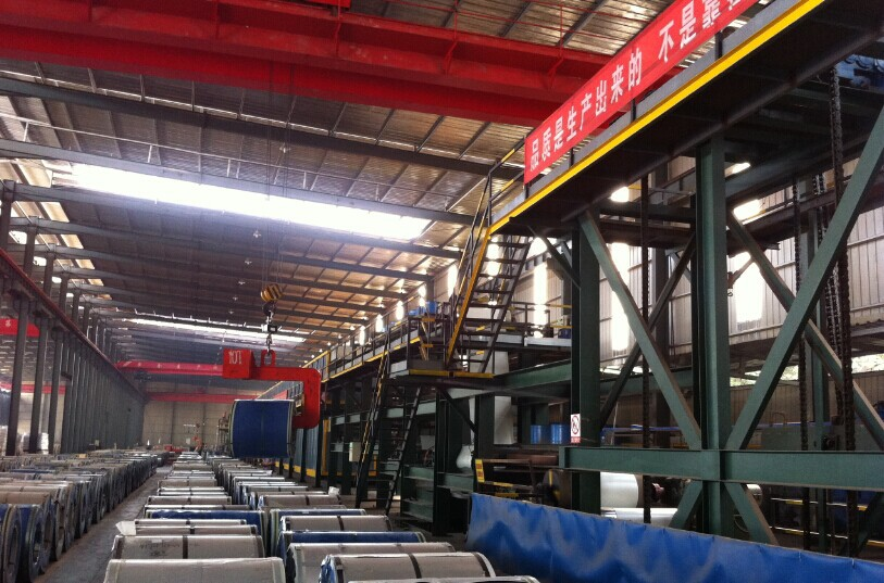 Mạ màu   Shandong Ye Hui Tudu Steel Co., Ltd. Sales of high-quality color steel coil