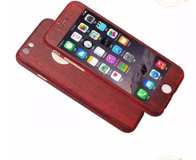 Miếng dán cường lực  Full coverage iPhone6 plus creative glass membrane Apple phone shell 6 full pro
