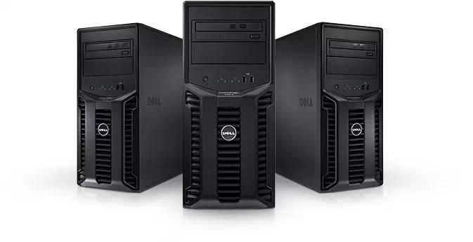 DELL Dell PowerEdge T110 server quad-core E3-1220 4G 500G DVD containing tax increases