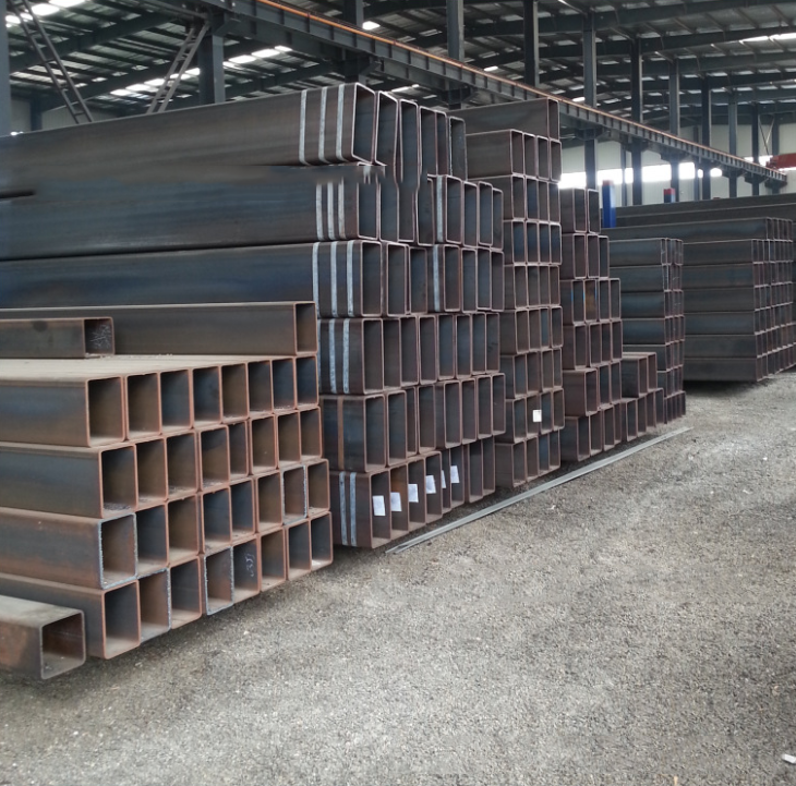 Straight seam pipe, thick-walled steel, non-standard seamless steel pipe square tube, precision tube