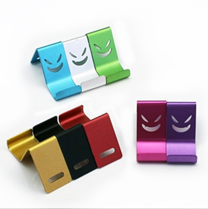 phụ kiện chống lưng điện thoại  Devil smiley devil aluminum metal stents phone holder mobile phone