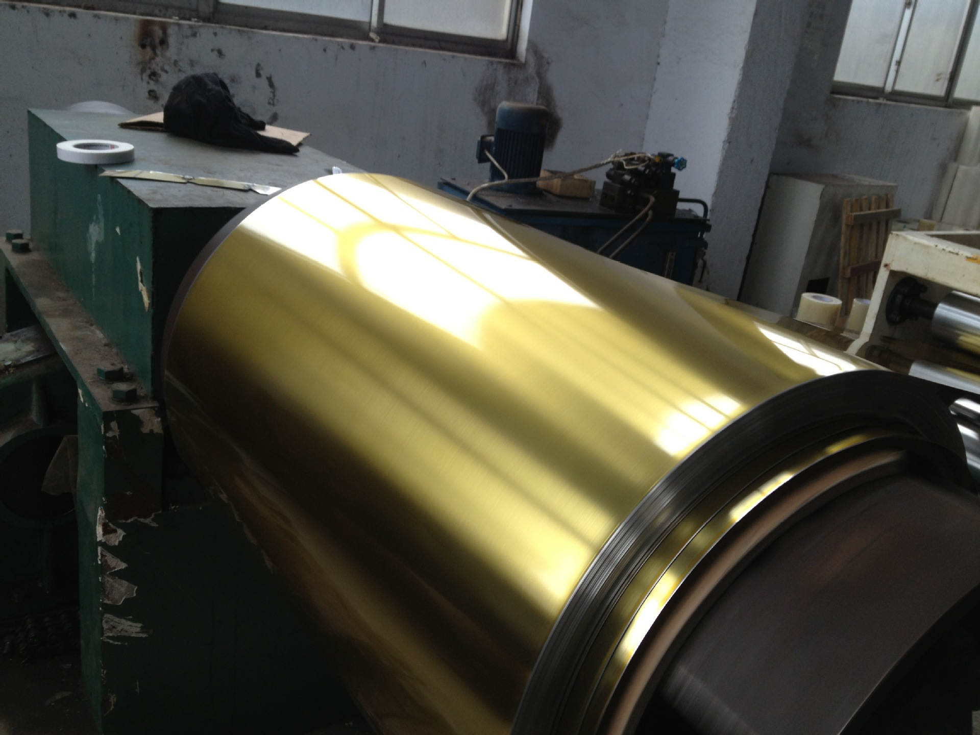 Vải Visco (Rayon)  Coated iron, tinplate, cold-rolled strip steel coated painted yellow