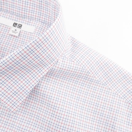 Men DRY EASY CARE plaid shirt (short sleeve) (drying) 169 233 UNIQLO UNIQLO