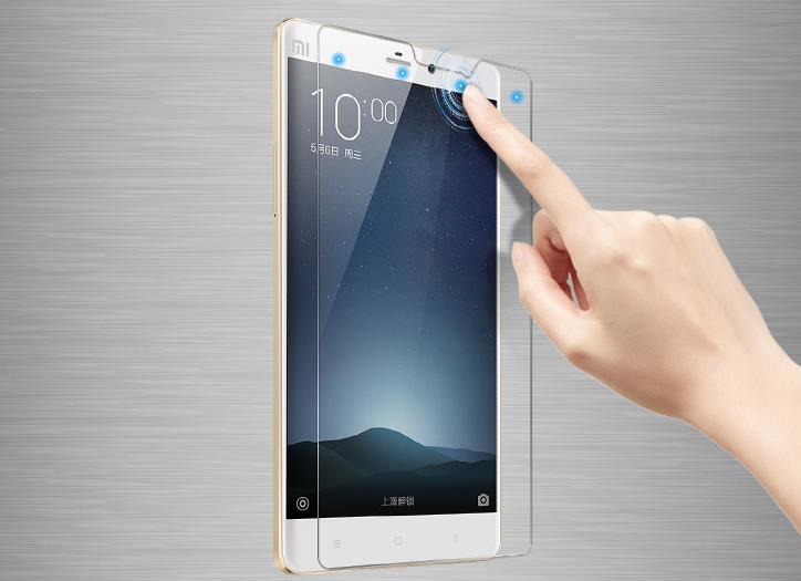 Miếng dán cường lực  Note millet smart glass film HD film scratch anti-fingerprint protective film m