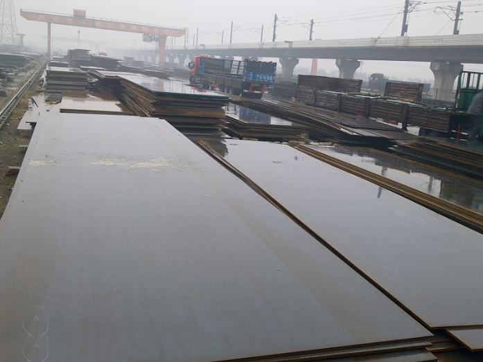 28-day supply of steel plate mill in Tianjin plate from the sale of a theoretical weight