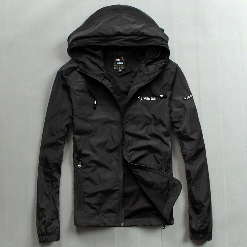 Factory direct new winter coat hooded jacket Men's high-end outdoor leisure thin coat tide iron