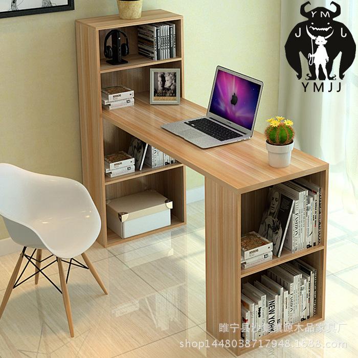 Simple desktop computer desk home office desk desk desk bookcase ark combination notebook contracted