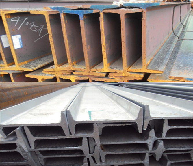 Q345bh type steel supply specifications Q235 H type steel I-beam variety