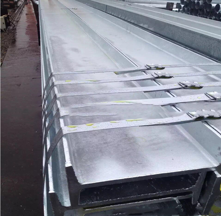 Thép ch ữ I   Low sales of hot-rolled H-beam spot beam galvanized
