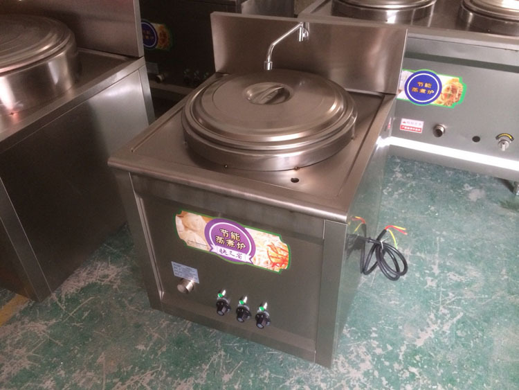 Commercial gas cooking stove 60 square cooking soup porridge pot electric energy-saving insulation S