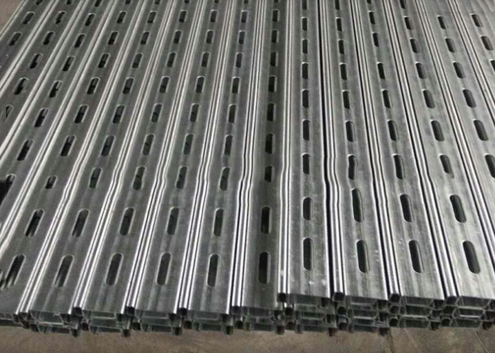Hot dip galvanized steel punching C PV C steel perforated steel bracket fixed bridge