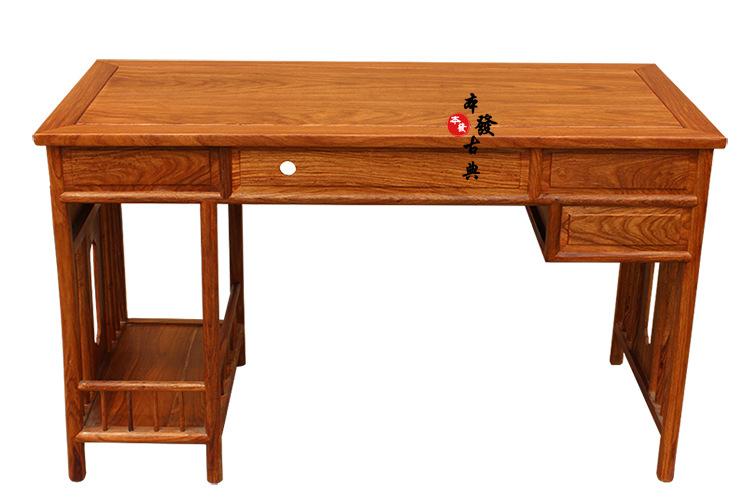 Máy tính để bàn - PC  The new factory annatto computer desk Rosewood desk Study of classical solid