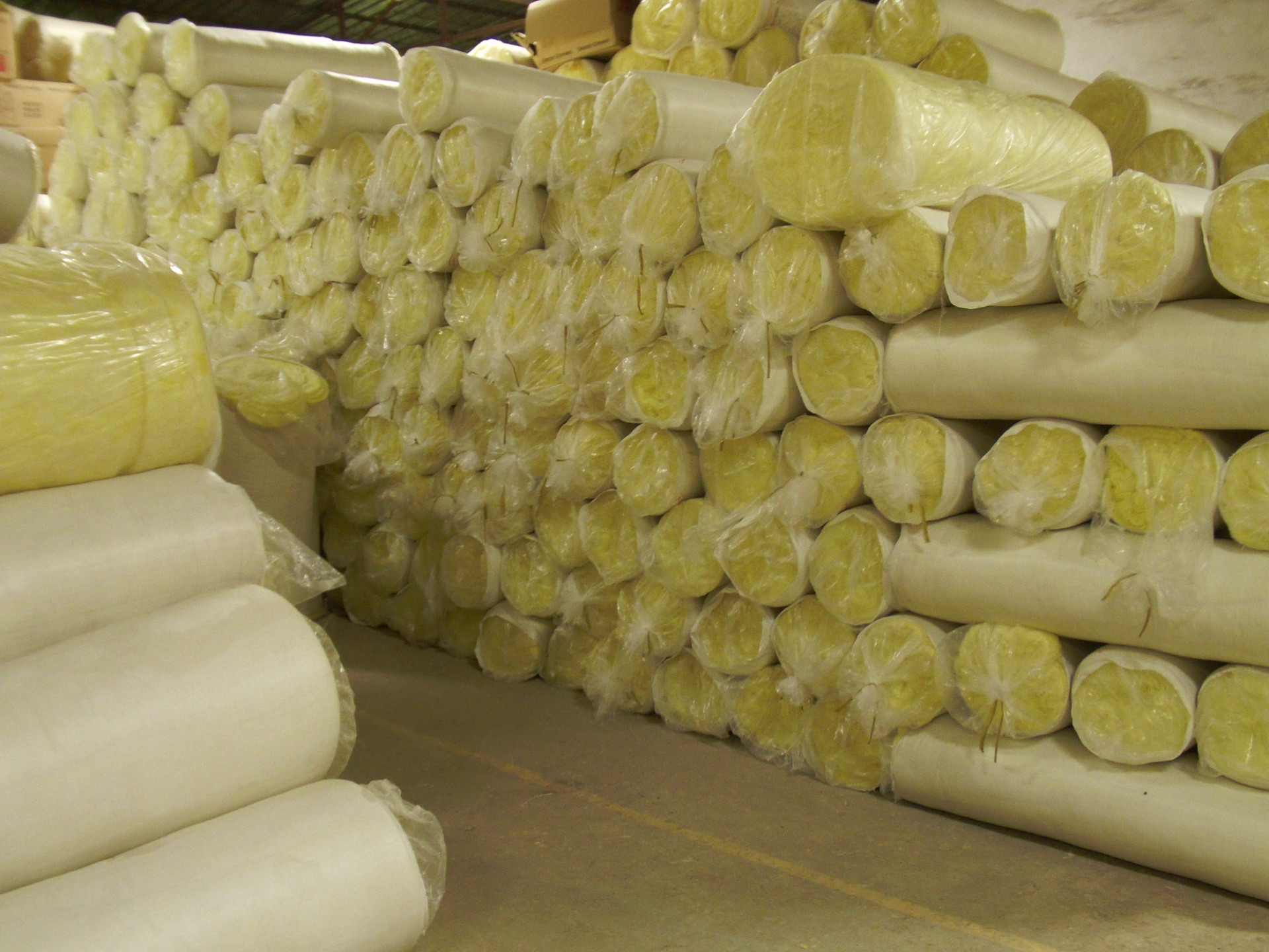 Nguyên liệu sản xuất điện tử Thảm len  thủy tinh cách nhiệt