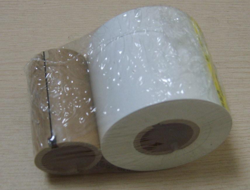 Ruy băng  Dumb film print alcohol-resistant white full resin ribbon