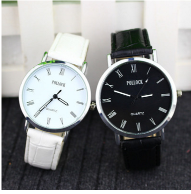 Hàng chính hãng giá gốc  POLLOCK genuine original brand of high-end men and women table couple watch