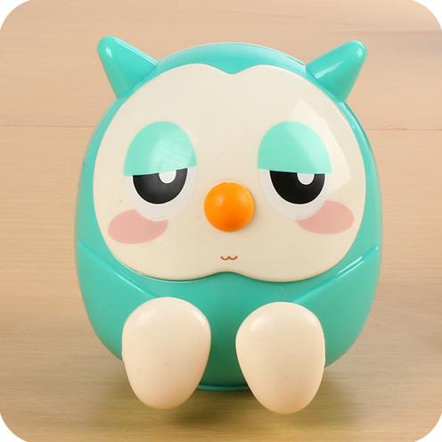 phụ kiện chống lưng điện thoại  Creative new owl piggy birthday gift bracket bracket lazy bedside p