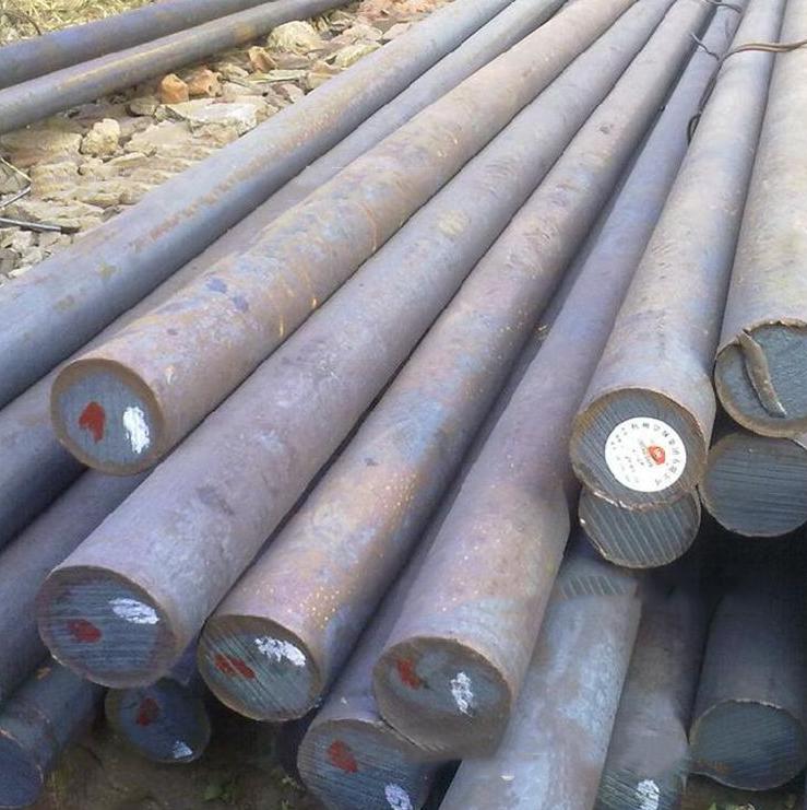 ThéThép tròn trơn   45 # carbon round Pu Industrial 75mm-160mm round steel bars