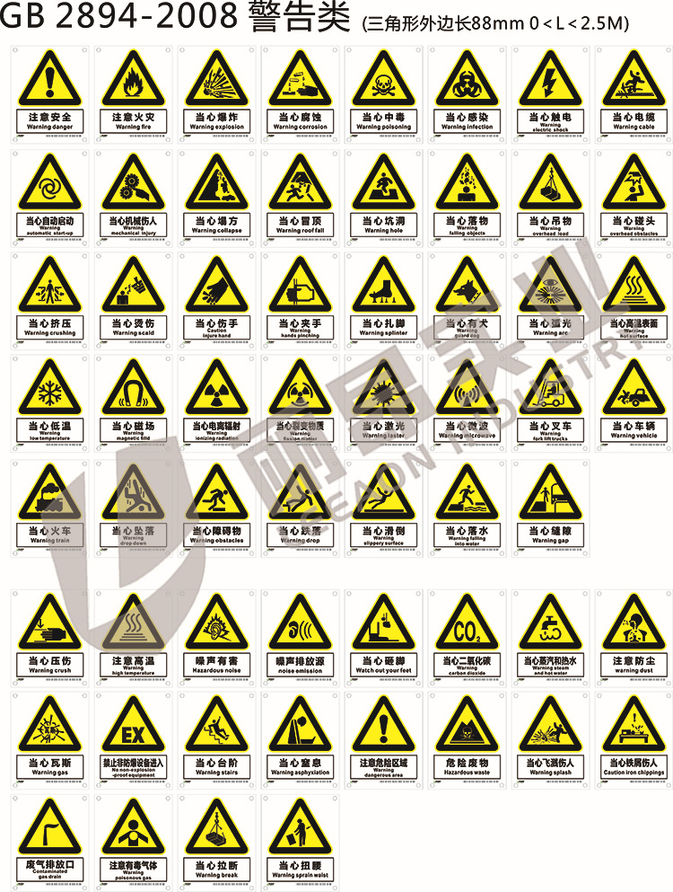 Giày cách điện  Giày cách điện Hai Liang must wear insulated shoes on warning signs signage namepla