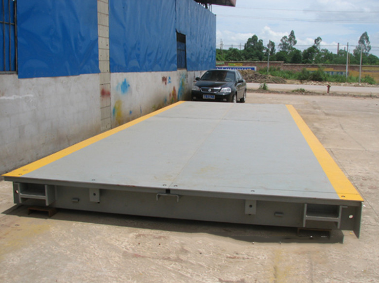 Cân sàn  Quzhou City, 100 tons of construction site weighing electronic weighbridge how much big sc