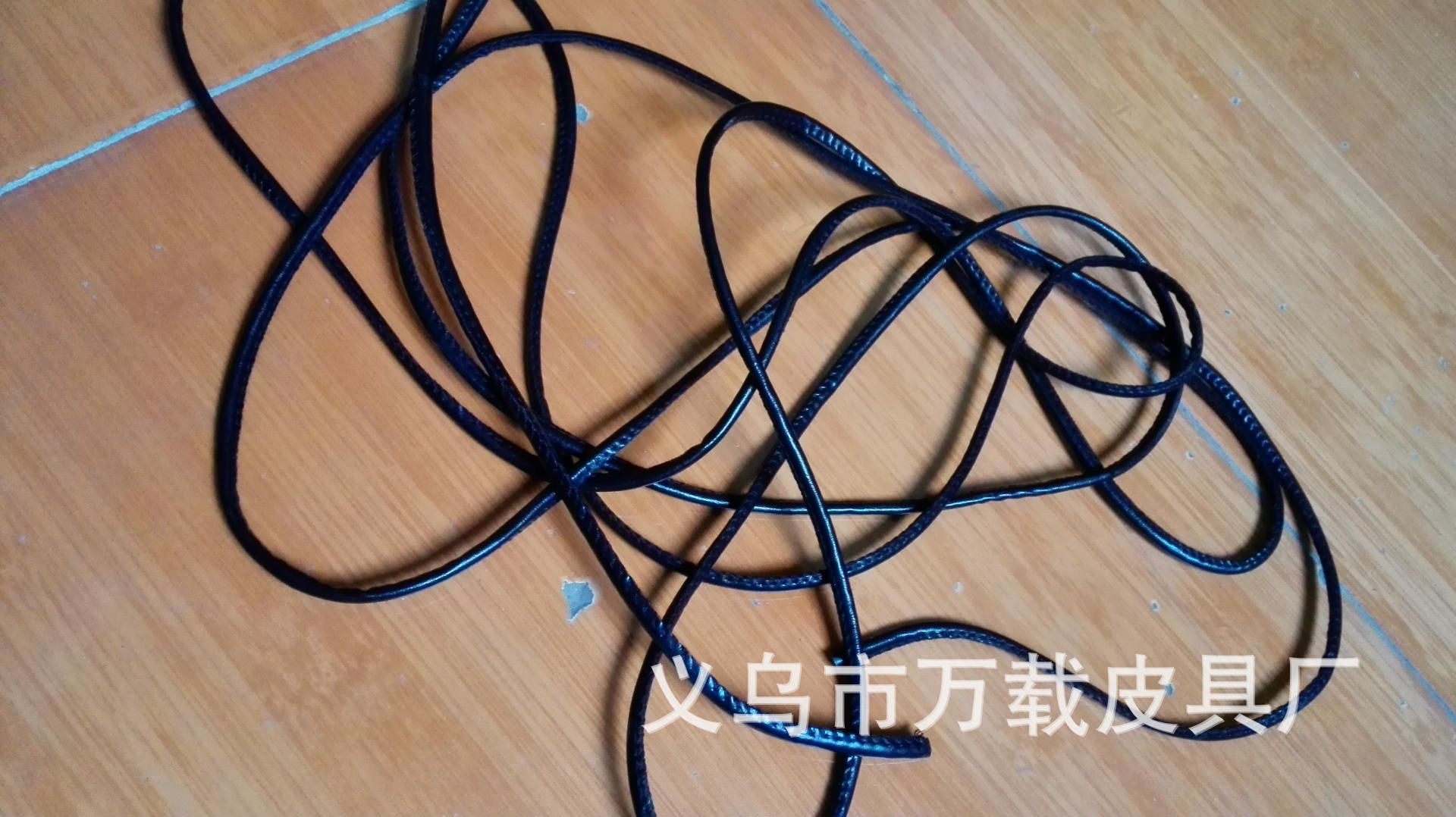 dây đeo    Clothing accessories wholesale / nylon / black / white / lanyard / tag rope / 4mm / 10mm