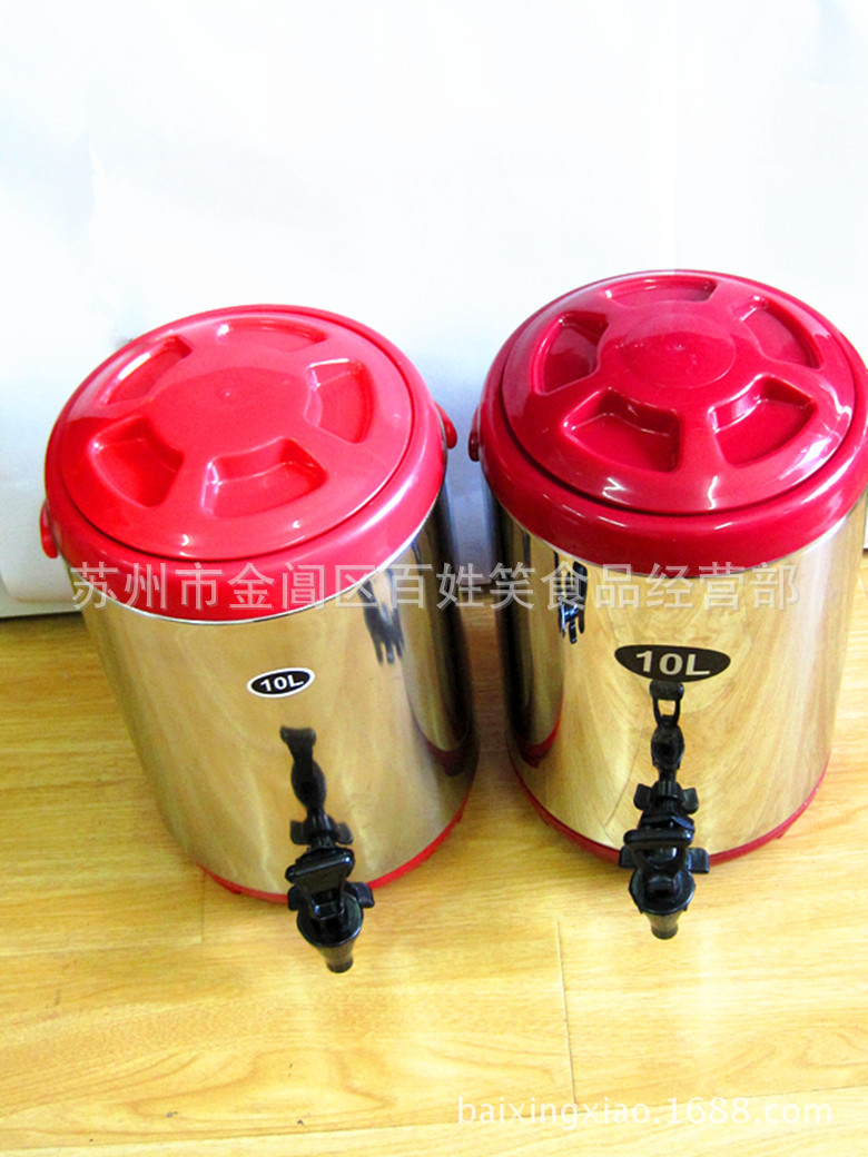 NLSX inox   Suzhou pearl milk tea shop essential raw material of stainless steel milk cooler 10L ba