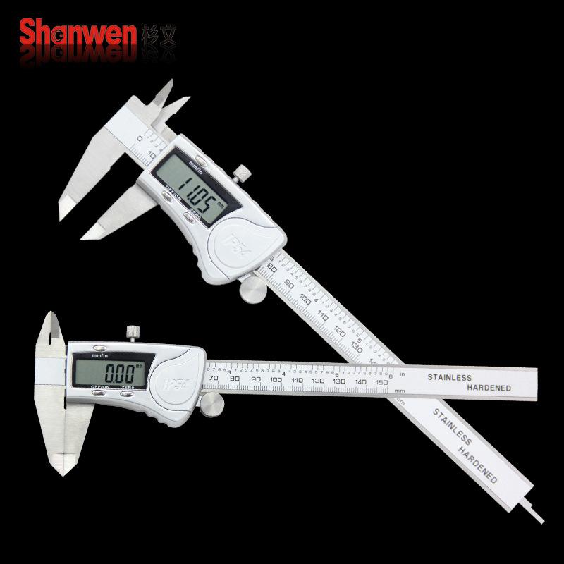 Industrial grade high precision digital vernier caliper, digital caliper stainless steel 0-150 200 3