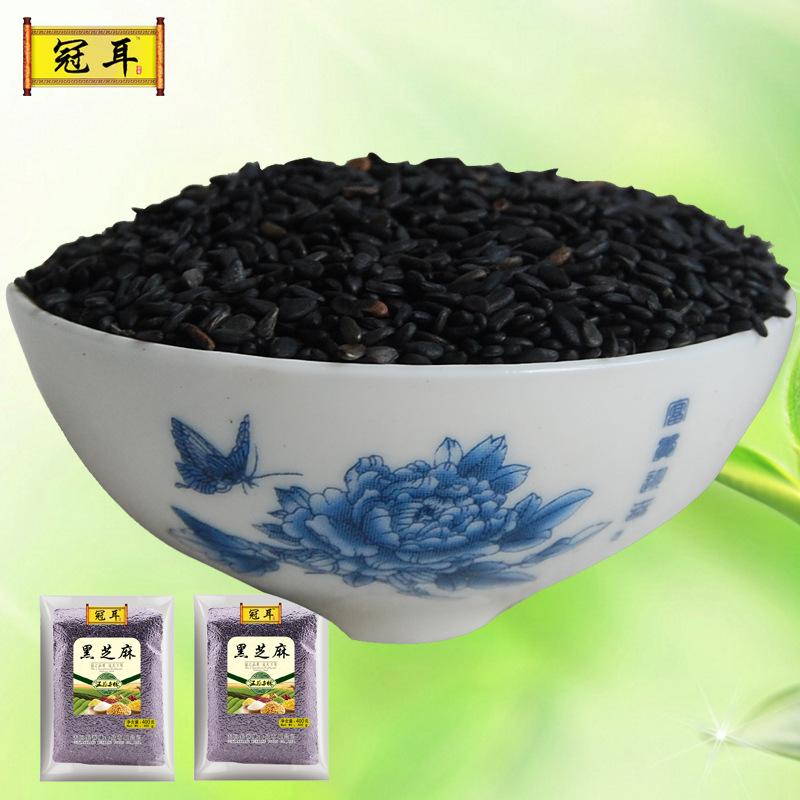 NLSX dầu thực vật Crown ear featured black sesame sesame grain baking south press raw materials non