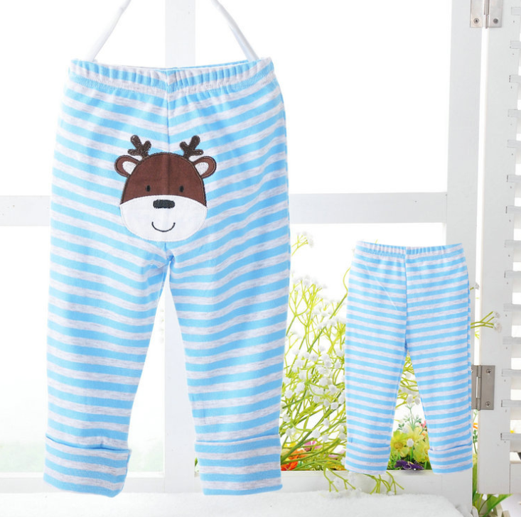 Quần   Carter PP pants baby cotton trousers embroidered pants hot models male and female baby