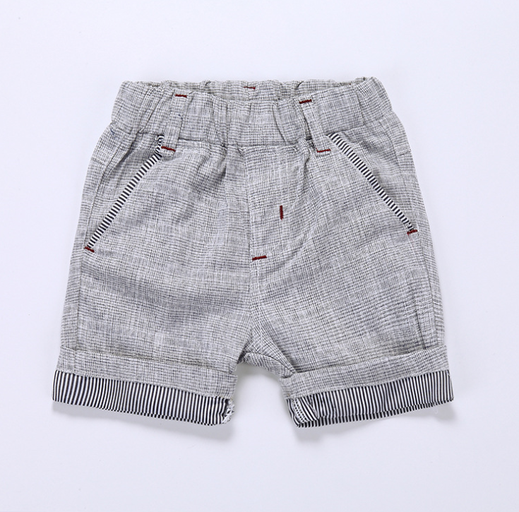Quần   Boys summer casual short trousers children 2016 new children's clothing baby short pants Ko