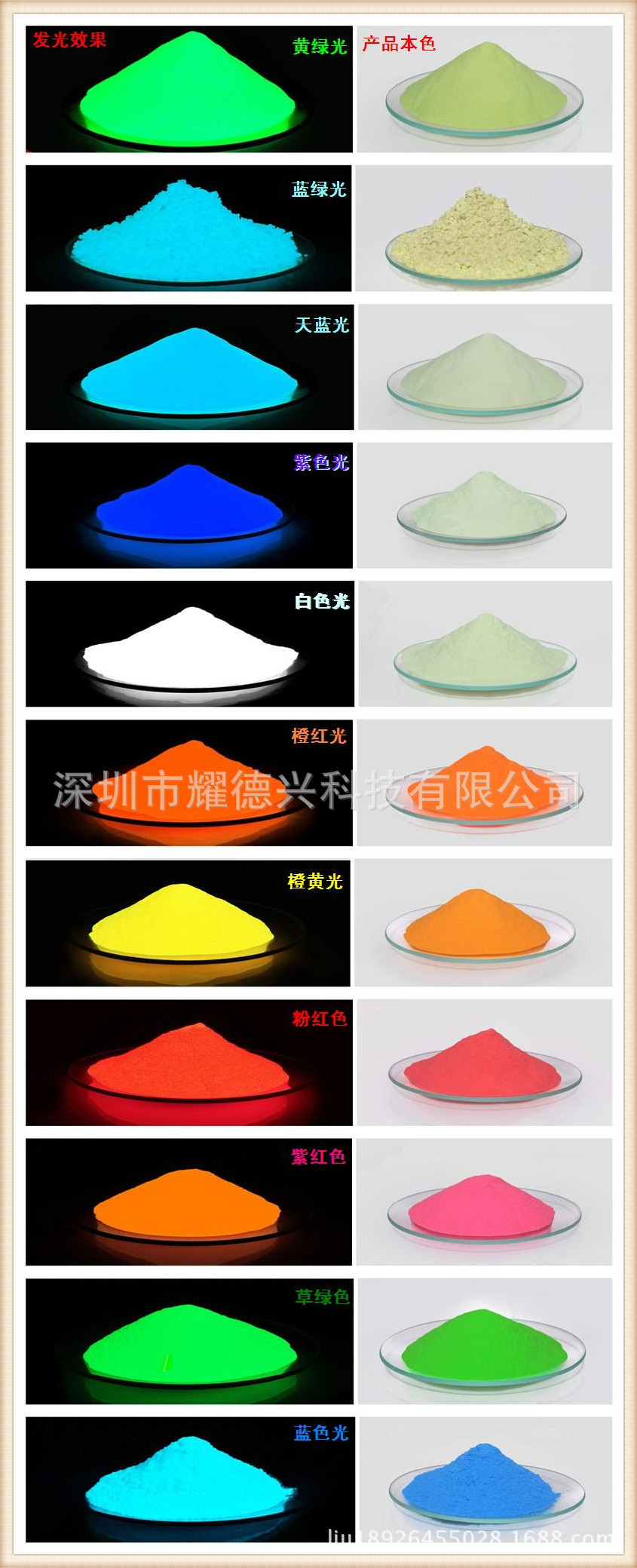 Nguyên liệu sả xuất giấy Color phosphors manufacturers wholesale Jianlou special luminous purple red