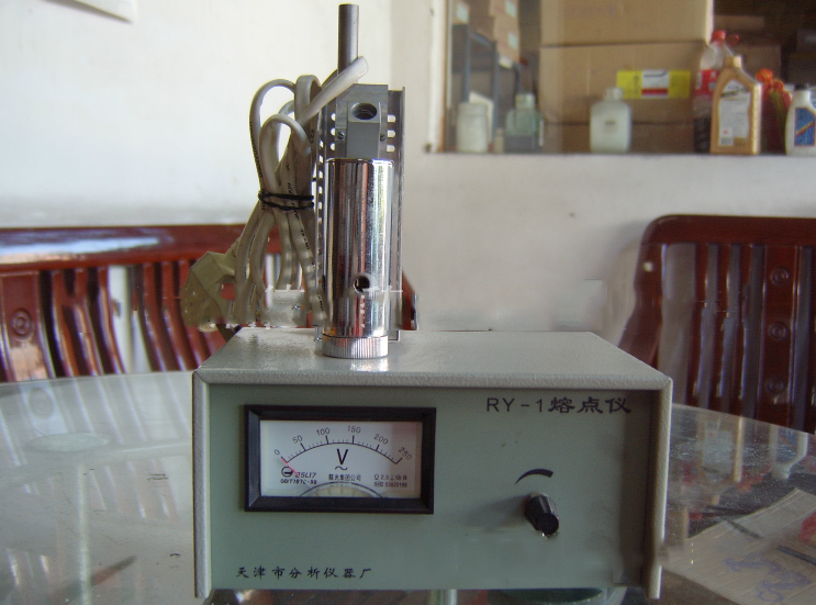 Shelf: RY-1 melting point tester Tianjin Instrument Factory pointer melting point apparatus