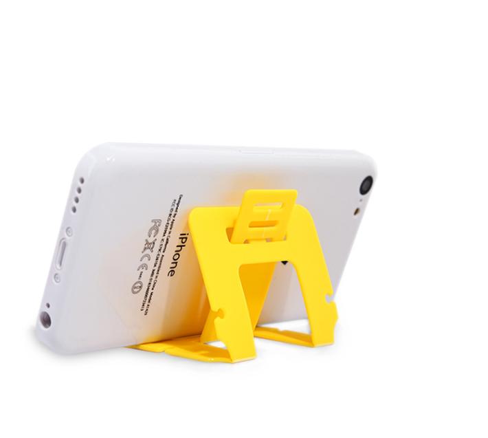 Creative folding card holder phone holder bracket lazy generic equivalent card holder Winder