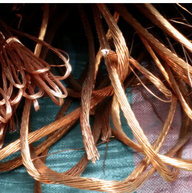 Renewable resources, scrap copper wire scrap metal recyclers in the processing of green waste materi