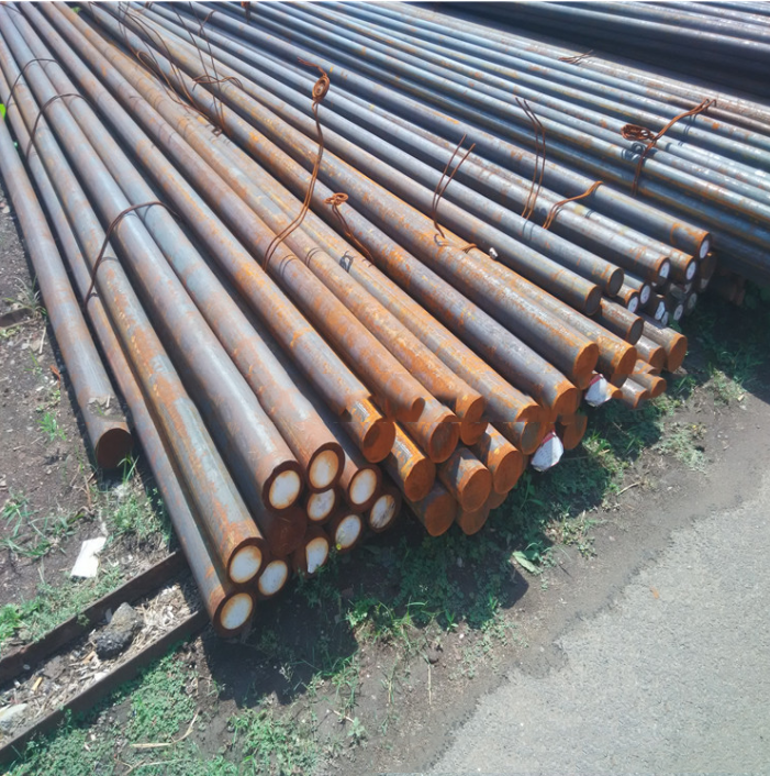 ThéThép tròn trơn   Spot market retail Q235 Q235 hot rolled round round round Cape Industry